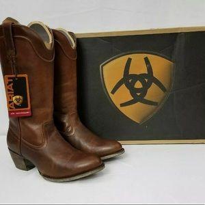 Ariat Bluebell Vintage Cowboy Boots Caramel 6M